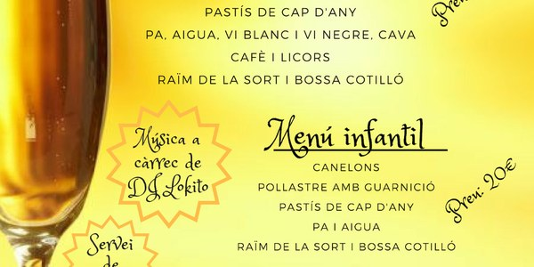 REVETLLA DE CAP D'ANY
